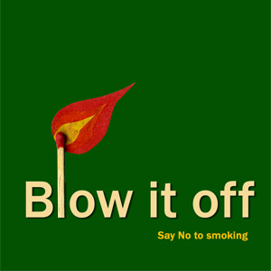 blow it off