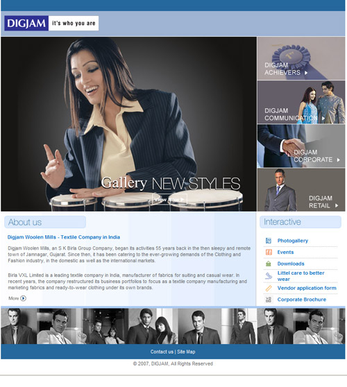 home page digjam suitings
