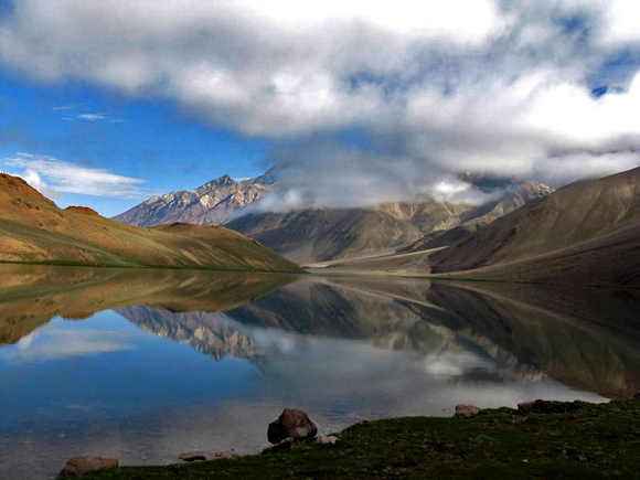Chandertal, The Moon lake, Himachal Pradesh